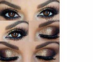 maquillaje de noche 1